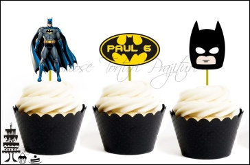Set Toppers Personalizate Contur BATMAN