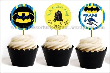 Toppers Personalizate Batman