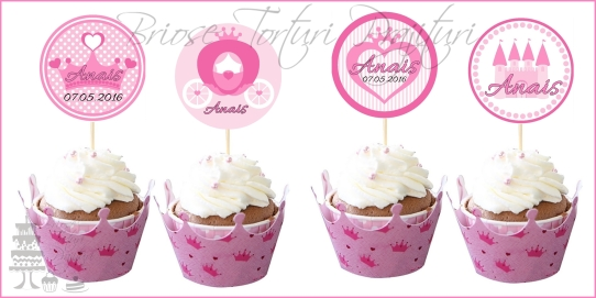 Toppers Personalizate PRINCESS