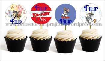 Toppers Personalizate Tom & Jerry