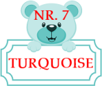 URSULET NR. 7 - TURQUOISE