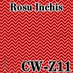 11. CHEVRON ROSU INCHIS