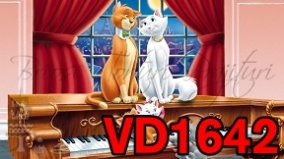 VD1642 - PISICILE ARISTOCRATE
