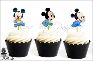Toppers Tematice Contur BABY MICKEY