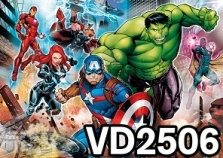 vd2506 - supereroi
